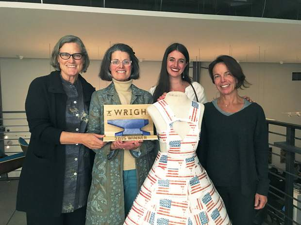 Rifle's The Whole Works clothing manufacturer wins 2015 Wright Award.